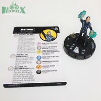 Heroclix Avengers: Black Panther & Illuminati set Maximus#060 Super Rare w/card!