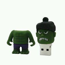 ##MINI HULK MEMORIA USB PENDRIVE 16GB###  EN STOCK.  ENVÍO DESDE ESPAÑA.