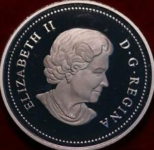 Uncirculated Proof 2004 Canada Silver One Dollar Foreign Coin