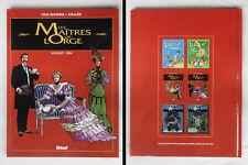 BD Van Hamme / Vallès - Les Maîtres de l'Orge 1993 T2 - Glénat