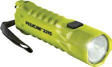 Box of 6 Pelican 3315 LED Flashlight. Yellow