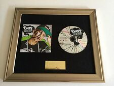 PERSONALLY SIGNED/AUTOGRAPHED DAPPY - BAD INTENTIONS FRAMED CD PRESENTATION.