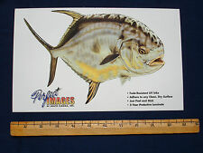 PERMIT FISH DECAL STICKER DON RAY