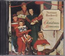 """NORMAN ROCKWELL """"CHRISTMAS MEMORIES"""" CD 1995 sealed"""