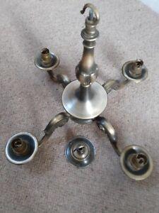 Antique Brass Effect Chandelier