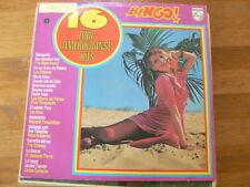 LP RECORD VINYL PIN-UP GIRL 16 ZUID-AMERIKAANSE HITS BINGO PHILIPS