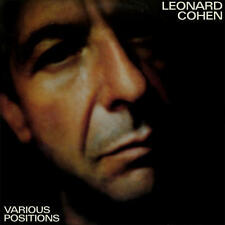 Leonard Cohen - Various Positions 180G LP REISSUE NEW / LIGHTLY DENTED JACKETS