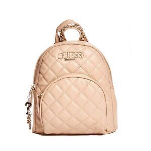 Guess Backpack Women Blush Color Rose Gold Pink Crossbody Handbag Mini Bag