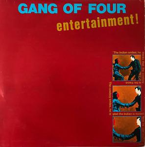 GANG OF FOUR - ENTERTAINMENT! (LP) (VG/VG-)