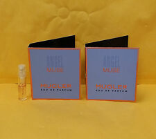 2 Samples Vial Angel Muse Perfume by Thierry Mugler for Women 0.05 oz EDP Spray