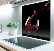 60cm x 70cm Digital Print Glass Splashback Heat Resistant  Toughened  291