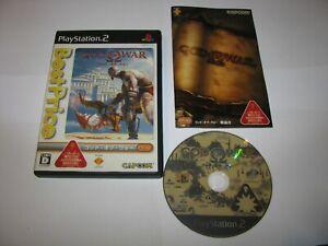 God of War Japanese Best Price Version Playstation 2 PS2 Japan import US Seller