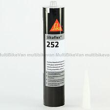 Sikaflex 252 schwarz Konstruktionsklebstoff 300 ml MHD 03/19 Sika Klebstoff