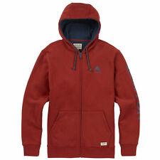 Burton Elite Full Zip Hooded Jacket Hoodie Sports Jacket