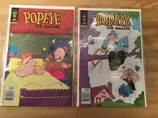 """TWO COMICS: Popeye #143 and #146    1979 : """"Oscar's Lack Of Foresight!""""    NM-"""