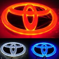 4D Car LED Logo Light Auto Badge Front Emblems For TOYOTA RAV4 EZ Highlander