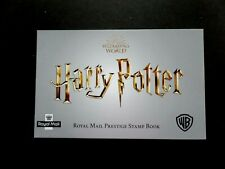 GB 2018 SG DY27 Harry Potter Prestige Booklet
