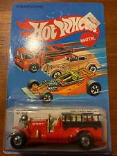 1983 HOT WHEELS - OLD NUMBER 5 FIRE TRUCK - DIECAST