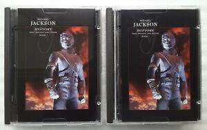 "MiniDisc  Michael Jackson  ""HIStory - Past, Present And Future - Book I"""