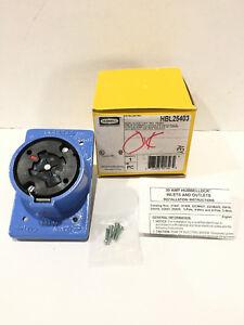 30/20A Locking Receptacle 4P 5W 600VAC/250VDC HUBBELLOCK HBL25403