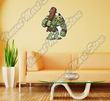 "Green Troll Monster Angry Cartoon Gift Wall Sticker Room Interior Decor 20""X25"""