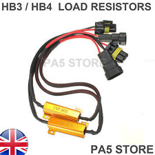 2x HB3 HB4 50w 6 ohm Load Resistors LED Canbus Error Free Rapid Blinking Flicker