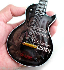 Miniature Guitar Quote from Rock Star : The Legendary Jimi Hendrix