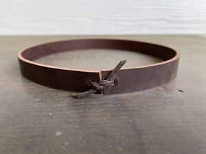 """3/4"""" Leather Hat Band For Vintage Rugged Western Cowboy Hat 7 1/8 Clint Eastwood"""