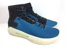 Under Armour Drive 4 Basketball Shoes Blue Black UA 1298309-003 Mens 10.5 New