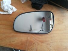 Right Driver side Flat Wing door mirror glass for Volvo s80 07-16 heated plate