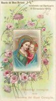 Santino Madonna Madonna del Buon Consiglio Ricordo mese Mariano Genazzano 1912