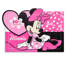 Disney Store Minnie Mouse Pink Puzzle Place Mat Kids Dinnerware Gift NEW