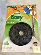 "Garden Collection easy flex locking ties 1/2"" x 8 ft new"