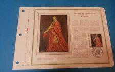 FRANCE DOCUMENT ARTISTIQUE YVERT 1766 PHILIPPE DE CHAMPAIGNE PARIS 1974  L682