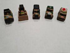 Micro Machines. Military vehicles