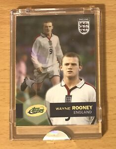 2005 ETOPPS UNCIRCULATED WAYNE ROONEY ROOKIE RC #/2005 MANCHESTER UNITED EVERTON