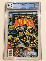 Nova #1 (1976) - 1st Nova - Richard Rider!! - CGC 9.2 - Key Issue!!