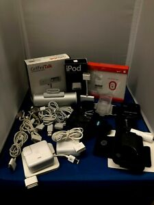 ULTIMATE APPLE IPOD IPAD ACCESSORY COLLECTOR'S BUNDLE CLASSIC NANO NIKE 24 PIN