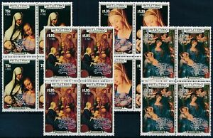 [P15588] Aitutaki 1986 : 4x Good Set Very Fine MNH Overprinted Stamps - $100