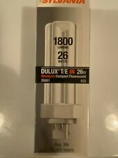 Sylvania S6747 (10 Pack 20881 Cf26Dt/E/In/835/Eco 26-Watt 3500K 4-Pin Triple Tub