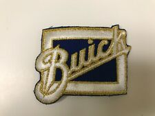 """VINTAGE  EMBROIDERED BUICK JACKET PATCH 3.5"""" X 2.5"""""""