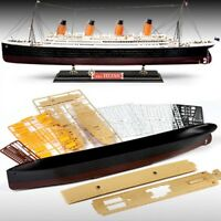 ACADEMY R.M.S. TITANIC Multi Color Parts MODEL Express Shipping Boat Toy_iU