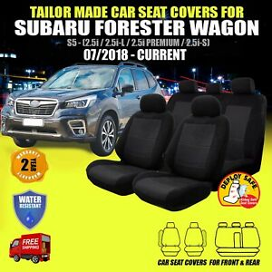 Car Seat Covers for Subaru Forester Front & Rear  07/2018 - Current Airbag Safe!