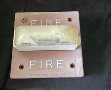 Wheelock Rsswp 2475w Fire Alarm Weatherproof Remote Strobe