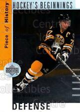 2002-03 UD Piece of History Hockey Beginnings #2 Ray Bourque