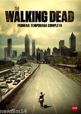 THE WALKING DEAD PRIMERA TEMPORADA 1 1ª COMPLETA [DVD] NUEVO ( SIN ABRIR )