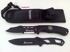 US Marines Mtech Grunt Combo Tactical Fixed Blade & Skeleton Knife Set M1032bk