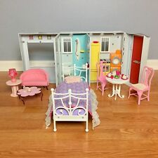 BARBIE MY HOUSE (VHTF) With Furniture Lot VGUC Folding Sounds 2007 Mattel