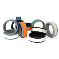 ITS- Colorful Sports Unisex Silicone Ring Flexible Wedding Band Men Women Gift C