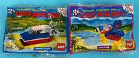 SET OF 2 McDonald's 1989 Lego Motion Happy Meal Swamp Stinger & Sea Eagle NEW